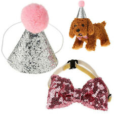 Dog Pet Cat Dog Bowknot Costume Headwear Caps Hat Birthday Party Costume New 889