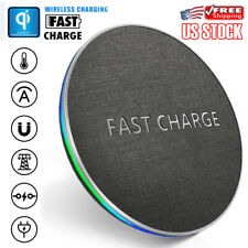 Fast Wireless Charger Charging Pad Mat For Apple iPhone XR X 8 Plus New Huawei