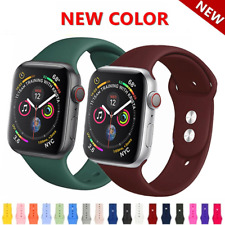 Replacement Sports Silicone Strap Band For AP iWatch Series 4/3/2/1 38mm/42mm