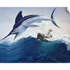 """""""The Old Man and the Sea"""" Wall Decal"""