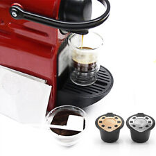 Stainless Steel Refillable Reusable Coffee Capsule Pod For Nespresso Essenza-Mac