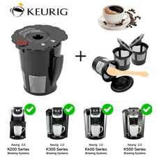 Reusable Coffee Filter Replacement for Keurig K Cup 2.0 Brewers K200 K400 K450