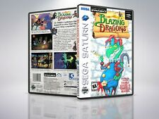 Blazing Dragons - Saturn - Replacement Case / Cover - (NO GAME)