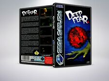 Deep Fear - PAL - Saturn - Replacement Case / Cover - (NO GAME)