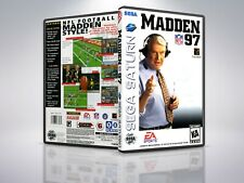 Madden 97 - Saturn - Replacement Case / Cover - (NO GAME)