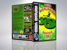 World Wide Soccer 98 - PAL - Saturn - Replacement Case / Cover - (NO GAME)