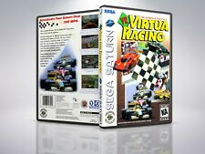 Virtua Racing - Saturn - Replacement Case / Cover - (NO GAME)