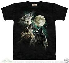 New THREE WOLF MOON Youth T Shirt