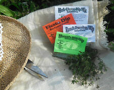Herb Mixes for DIPS~low salt~11 varieties~dill~garlic