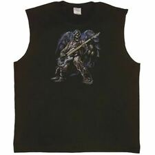 Axeman Bass Guitar Player tank top Sleeveless T-shirt