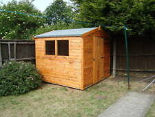Heavy Duty Wood Garden Sheds Pent or Apex, made to order! free 50 mile delivery