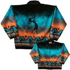 Kokopelli Flute Native Southwest Fleece Jacket
