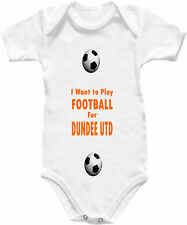 Dundee United Football Play Shirt Baby Grow Babygro Kit