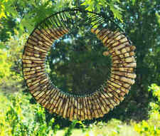 Slinky Wreath Whole in-shell Peanut Seed Ring Circle Bird Squirrel Feeder