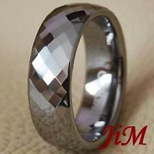 Wedding Band Rings Tungsten Carbide Jewelry Size 6-15