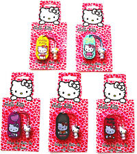 New Hello Kitty Lip Gloss Balm With Cute Kitty Charm - Pick Flavour Colour