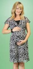New 2Pc Set JAPANESE WEEKEND MATERNITY Chic Polka Dot Career Dress with Slip Lot
