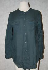 Gap women's henley shirt dark green $54 price new with tags four sizes available