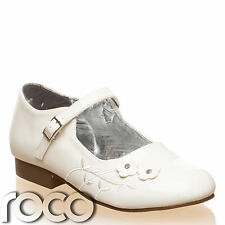 Baby Girls Ivory Shoes, Flower Girl Shoes, Bridesmaid Shoes, Christening Shoes