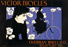 AD6 Vintage 1896 Victor Bicycles Bike Advertisment Advertising Poster A1 A2 A3
