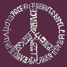 Boy's T-shirt - The Word Peace in 20 Languages Word Art