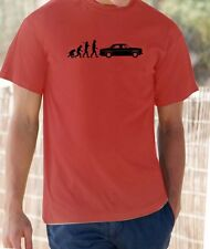Evolution of Man, Rover P5  t-shirt