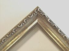 Larson-Juhl Silver Ornate Solid Wood  Picture Frames-Custom Made Square Sizes