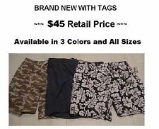 $45 Big & Tall  XL  2X  3X  4X  5X  6X  Men's Cargo Swim Trunks Island Passport