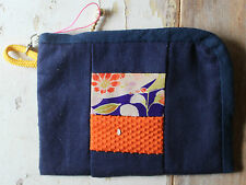 Hand Made Japanese Vintage Kimono Fabric Digital Camera Case