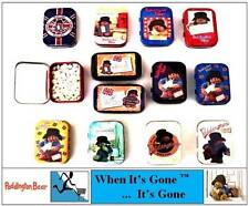 NEW CUTE PADDINGTON BEAR COLLECTABLE MINT SWEETS TINS - PARTY BAGS,GIFTS,TRAVELL
