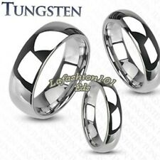 Best Selling Tungsten Mirror Finish Traditional Mens/Womens Wedding Band SZ 5-13