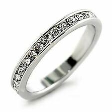 Easy Match Womens Hand-set Eternity Band Rring SIZE 5,6,7,8,9,10