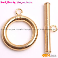 15mm Yellow Gold Plated Toggle Clasps Jewelry Making Clasps
