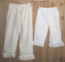 Girl or ladies bloomers pantaloons prairie Historical Pioneer pick size & color