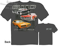 1965 1967 1969 Pontiac GTO Shirt, GTO Apparel, Muscle Car Tee, Sz M L XL 2XL 3XL