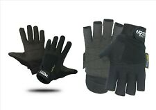 NEW Raptor Elite Padded Sailing/Yachting/Dinghy 3/4 Gloves: XS/S/M/L/XL/XXL