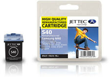 Remanufactured Jettec M40 Black Ink Cartridge for Dell Printers