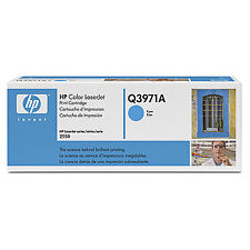 Genuine HP Q3971A Cyan Laser Toner Cartridge for Printers