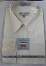 New Daniel Ellissa Mens Fashion Dress Shirt Ivory, DS3001