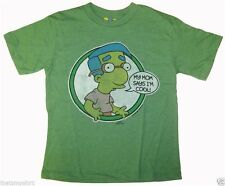 New Authentic Junk Food The Simpsons My Mom Says Im Cool Boys T-Shirt