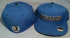 DALLAS MAVERICKS TEAM COLOR FLAT BRIM FITTED AUTHENTIC NBA MAVERICKS CAP REEBOK