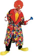 Patches the Clown Jacket Circus Funny Scary Dress Up Halloween Adult Costume