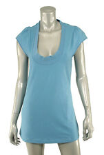 Adidas Stella McCartney Blue CU Performance Tank Top New $90