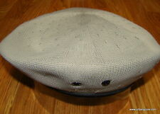 Mens Classic  Kangol  Tropic  Monty  Military  Beret  Color  Putty