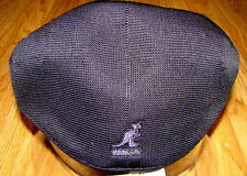 Mens Classic  Kangol  Tropic  2-Toned  Brim  504  Ivy  Cap  Color Black/Charcoal