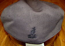 Mens Classic  Kangol  Tropic  2-Toned  Brim  504  Ivy  Cap  Color Charcoal/Black