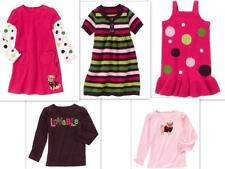 NWT Gymboree sz 6 PUPS & KISSES Sweater Jumper Pink Polka Dot Dress Dog Shirt