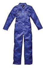 Dickies Redhawk Zip Coverall Overall Boiler Suit WD4839 Royal Blue