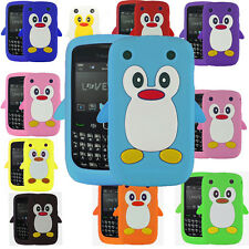 Cute Penguin Style Case For Blackberry Curve 9320 / 9220 Funky Back Cover