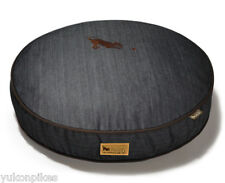 Urban Denim Natural Cotton & Eco-Friendly Polyfill Dog Bed - Brown S / M / L